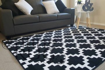 Industry Black White Geometric