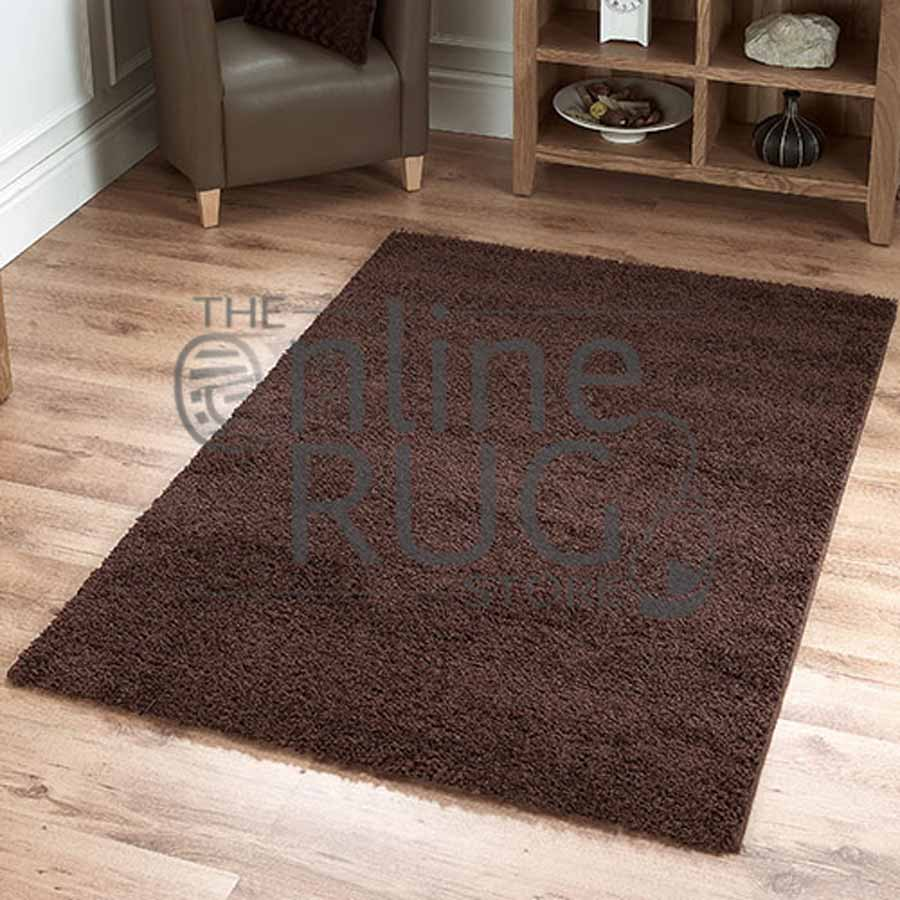 Ava Chocolate Brown The Online Rug Store