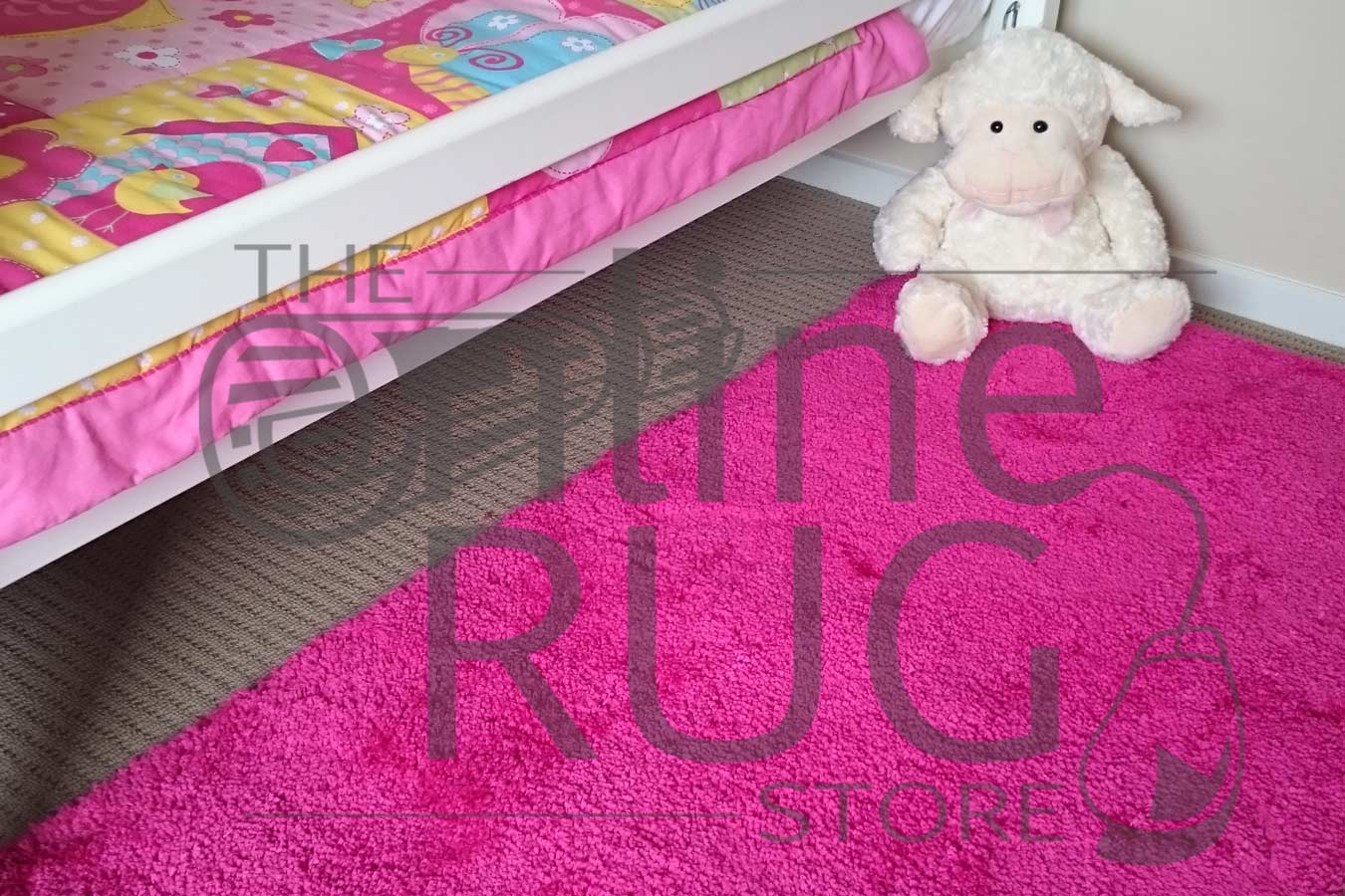 Ava Pink The Online Rug Store