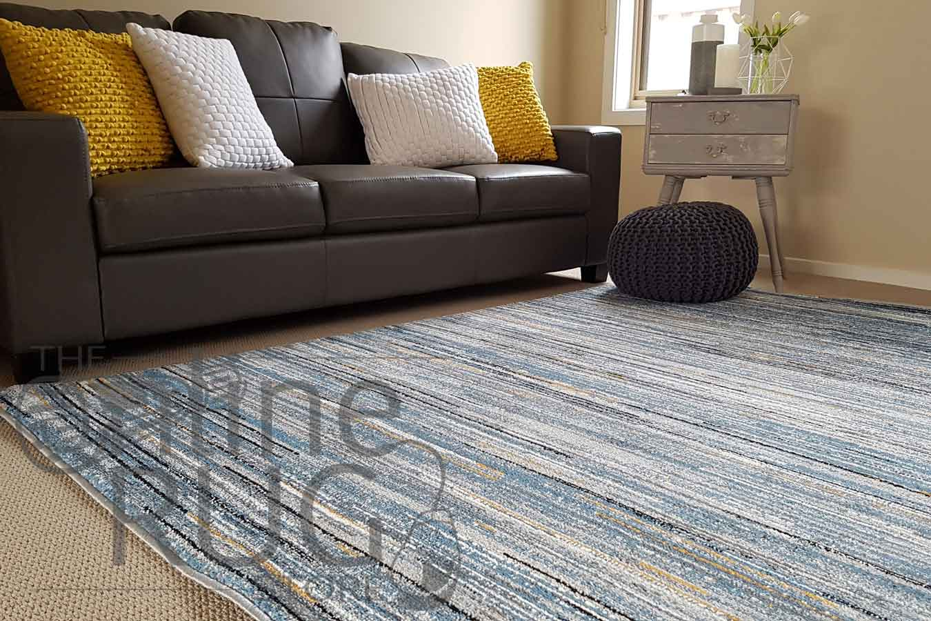 Grey Stripe Lines The Online Rug Store