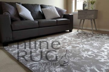 Natural Grey Classic French Damask