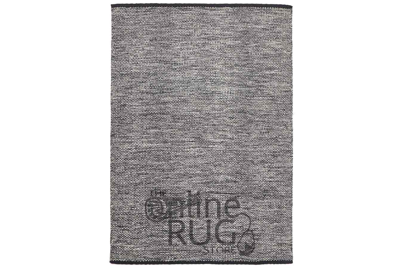 Black Natural White Argentina Rug