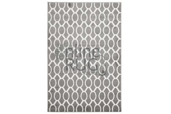 Grey Loops Indoor Rug