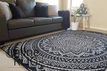 Mandala Black Grey