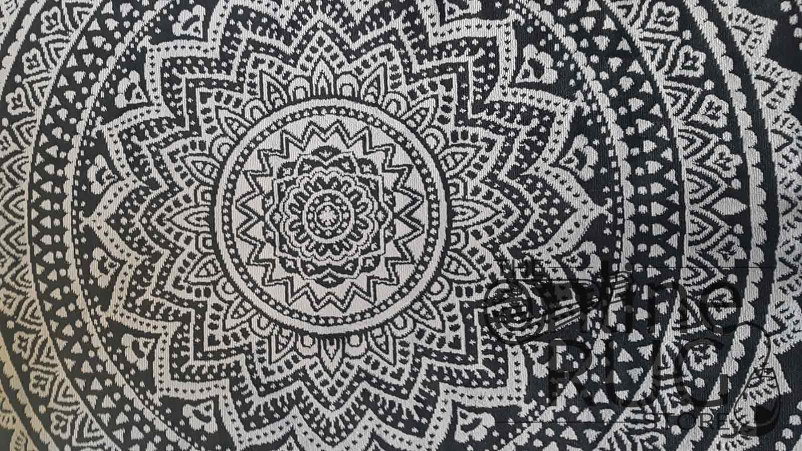 Industry Mandala Black Grey