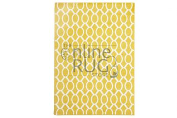 Yellow Loops Indoor Rug
