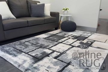 Space Grey Abstract Canvas