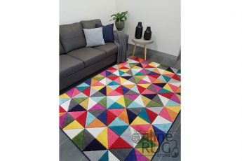 Candy Crush Rainbow Geometric