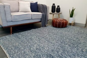 Darcy Blue Grey Felted Wool Rug (1)