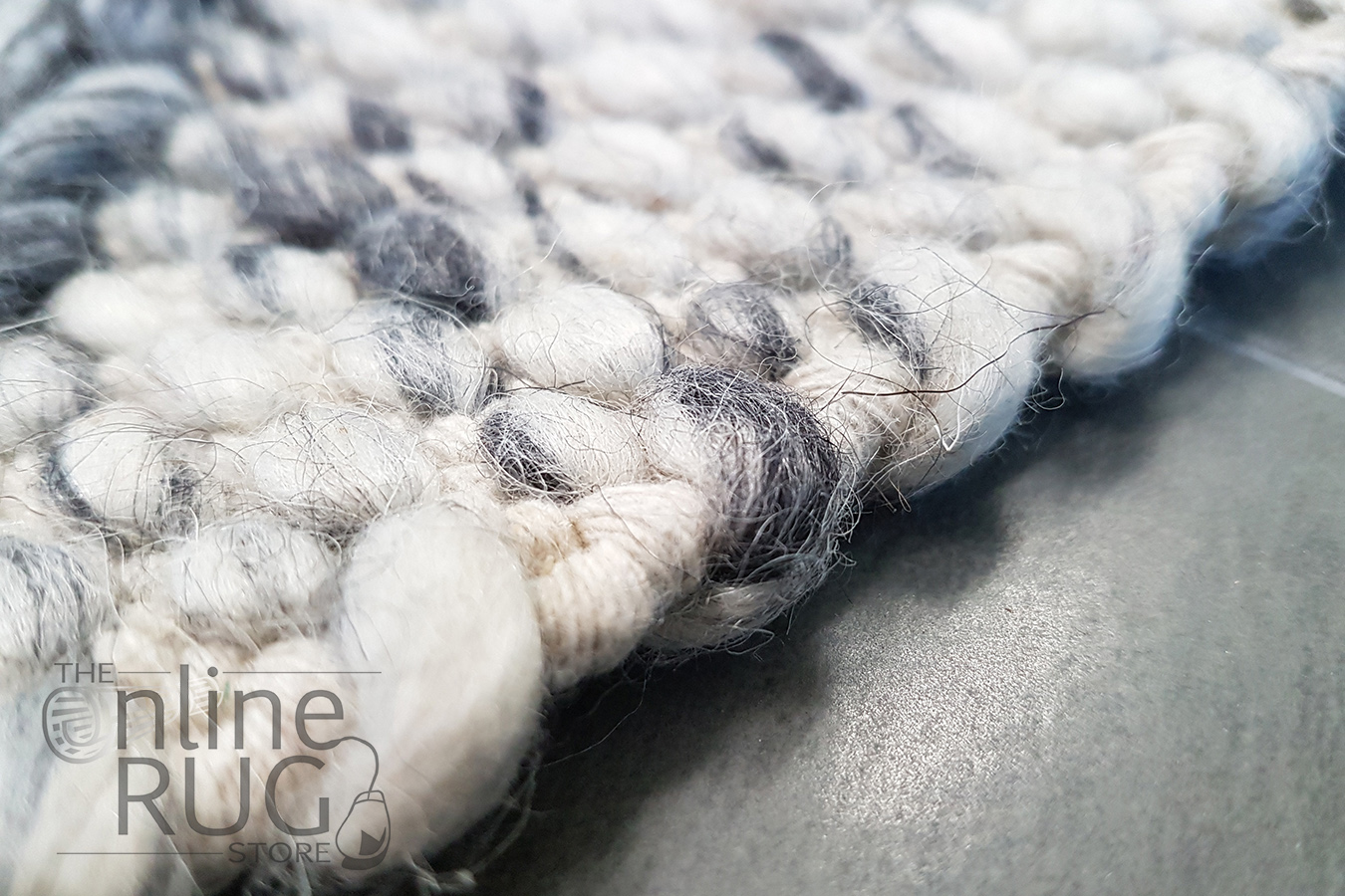Essence Nordic Diamond Felted Wool Grey