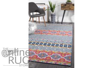 Heaven Multicoloured Tribal Bohemian Rug (1)
